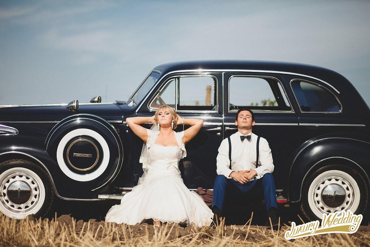 Заказ ретро автомобилей на свадьбу в одессе 2