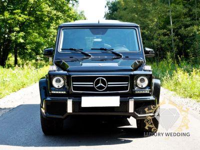 Mercedes Geländewagen Black