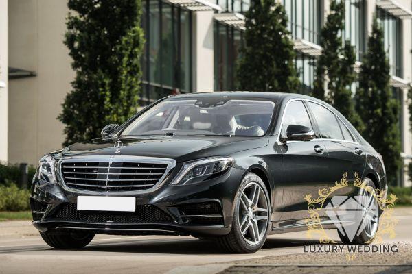 Mercedes-Benz S Class w222 Black