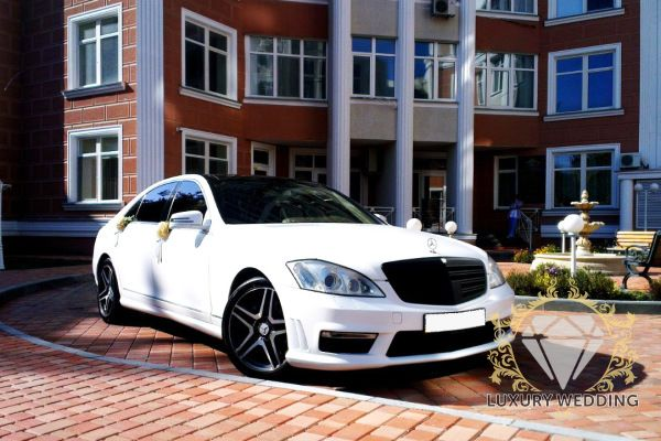 Mercedes-Benz S Class w221 White