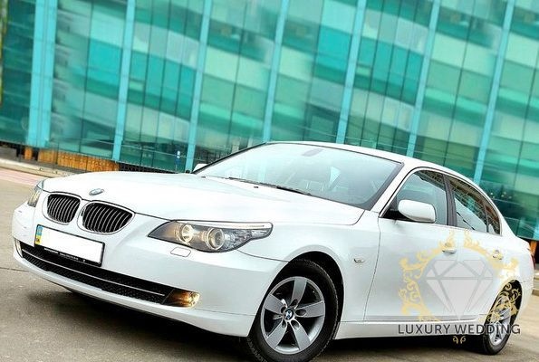 BMW 5 series E60 White
