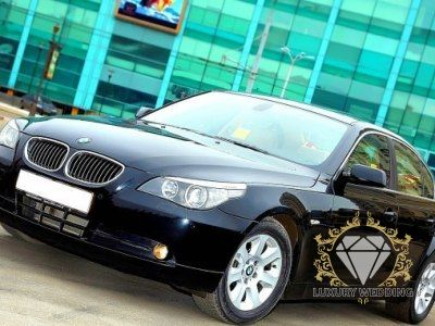 BMW 5 series E60 Black