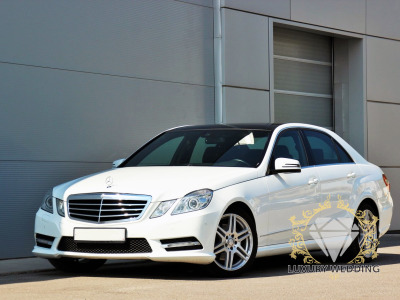 Mercedes-Benz E Class w212 White